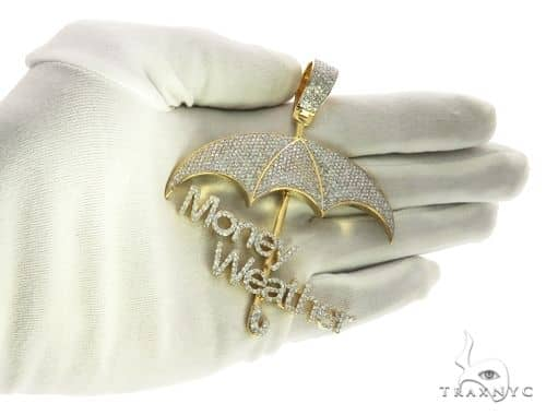 Custom made money weather umbrella diamond pendant 63882 mens metal mens diamond jewelry mens pendants metal custom made money weather umbrella diamond pendant 63882 aloadofball Image collections