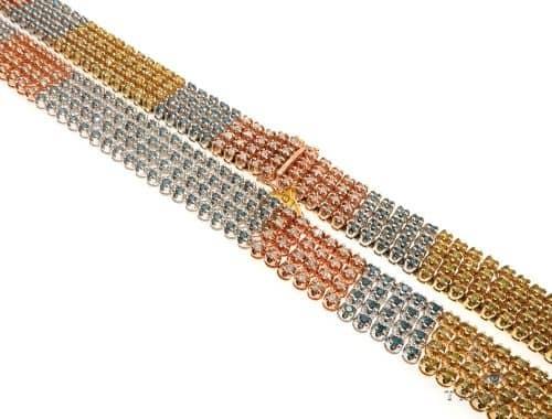 4 Rows Diamond Chain 63919 Diamond