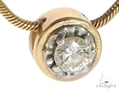 Prong Diamond Solitare Necklace 63920 Diamond