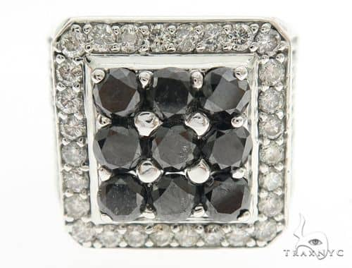 Freeze Black and White Premiere Ring 63944 Stone