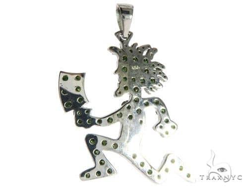 14k white gold green diamonds hatchet man pendant 63955 ladies stone mens diamond jewelry mens pendants metal 14k white gold green diamonds hatchet man pendant 63955 aloadofball Gallery