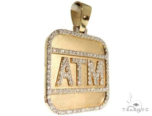 Custom Diamond Pendant 63961 Metal