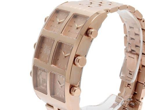 Mens Diamond Jewelry Watches Icelink Yerevan Edition Aria 6tz Rose Gold Watch 63973