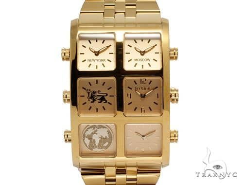IceLink Vanna 6TZ Mens Gold Watch 63974 IceLink Watches