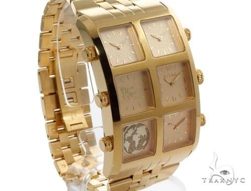Mens Diamond Jewelry Watches Icelink Vanna 6tz Gold Watch 63974