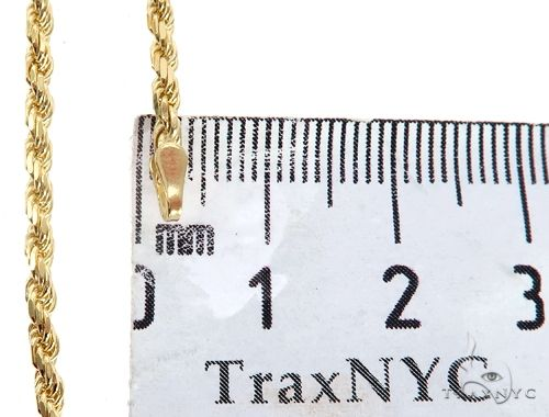 """20/"""" 2.5mm WHITE GOLD EP ROPE NECKLACE CHAIN"""