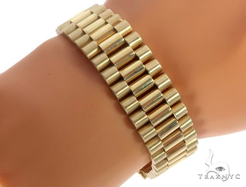 14k Yellow Gold Rolex Watch Band