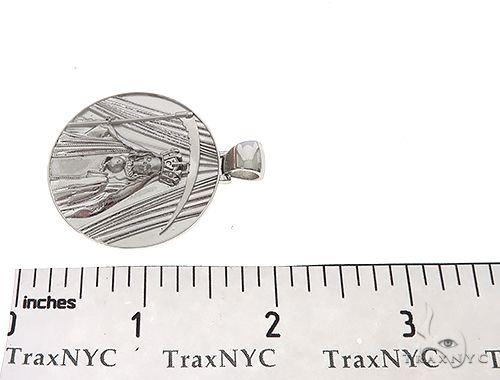 Special Custom Medallion Coin Centario Pendant with Engraving 65241