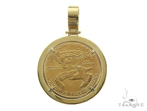 GLD856 Necklace Findings 30mm 24 k Shiny Gold Plated Medallion Pendants Greek Coins