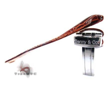 Benny & Co Men's Brown Leather Band Watch Accessories