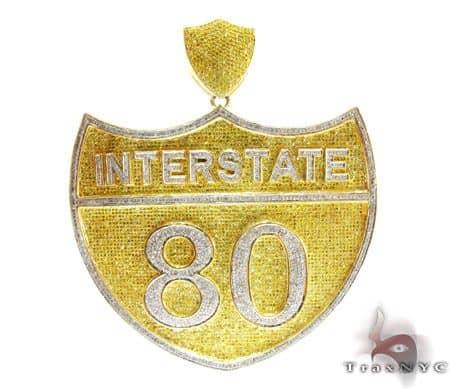Hip hop jewelry super interstate pendant mens hip hop pendant mens diamond jewelry mens pendants metal hip hop jewelry super interstate pendant aloadofball Choice Image
