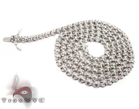 Noble Chain 32 Inches, 4mm, 91.8 Grams Diamond