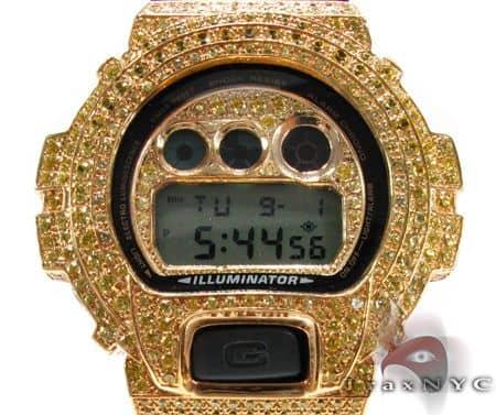 Yellow Gold G-Shock Illuminator Case G-Shock