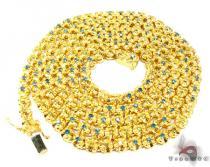 Mens Diamond Chain 40 Inches, 5mm, 117.5 Grams Diamond