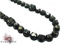 Black Diamond Chain 36 Inches 12mm Diamond