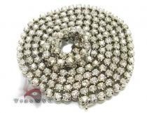 Bullet Chain 30 Inches, 67.10 Grams Diamond