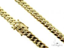 Miami Cuban 10K Yellow Gold 23 Inches 9mm 125.30 Grams 56552 Gold