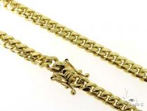 Miami Cuban 14K Gold Chain 28 Inches 7mm 115.5 Grams 56555 Gold
